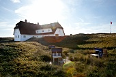 Hotel Dorint Sol'ring court in the dunes of Rantum, Sylt, Germany