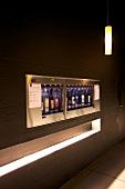 Genfer See, Kanton Waadt, Rivaz, Lavaux Vinorama, Weinautomat