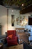Tasting room Lavaux vineyard, Lake Geneva