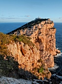 View of Capo Caccia on west coast of Sardinia, Italy