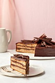 Chocolate cake with parsnips