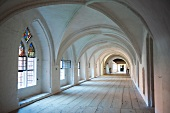 Interior of cloister in Wienhausen, Germany