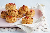 Oat scones with dried goji berries