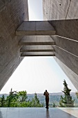 Yad vashem memorial in Jerusalem, Israel
