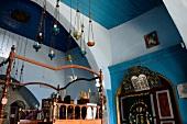 View of Yosef Caro Synagogue in Safed, Israel