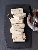 Hazelnut semifreddo with limoncello