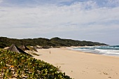 View of Maputaland Marine Reserve on beach at South Africa