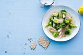 Abnehmen, Brokkoli-Kabeljau-Topf