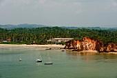 Sri Lanka, Südküste, Bucht von Weligama, Indischer Ozean, malerisch