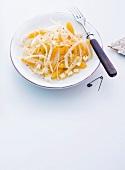 Abnehmen, Fenchelsalat mit Orangen