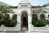 Facade of Nr. 20, Private Villa, Galle Fort, Sri Lanka