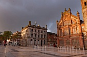 View of Guildhall Square in Londonderry, Ireland