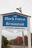 Kanada, Nova Scotia, bei Lunenburg, kleine Hafenstadt, Old Black Forest