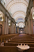 Interior of Mary, Queen of the World Cathedral, Montreal, Canada