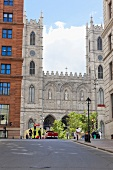 Kanada, Montreal, Basilika Notre- Dame, aussen