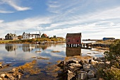 Kanada, Nova Scotia, Prospect, nahe Halifax, Wasser, Dorf, malerisch