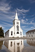 Kanada, Nova Scotia, Prospect, bei Halifax, Kirche, weiss
