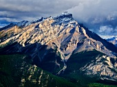 View of Mount Norquay in Banff National Park, Alberta, Canada