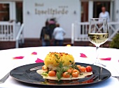 Food speciality of Hotel Inselfrieden, Spiekeroog, Lower Saxony, Germany