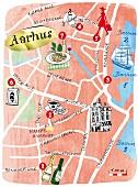 Blick auf Aarhus, Illu,