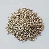 A pile of quinoa