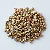 A pile of buckwheat