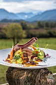 Murnau veal chop with vegetables