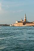 The island of San Giorgio Maggiore near Venice, Italy