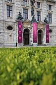 Deutschland, München, Bayrisches Nationalmuseum, aussen