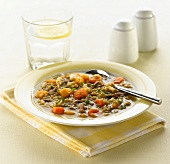 Scotch broth (Barley soup with vegetables and lamb, Scotland)