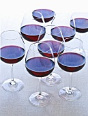Eight Glasses of Red Wine