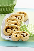 Raisin snail (coiled raisin roll)