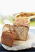 Wholegrain bread, sliced