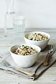 Gebratener Reis mit Krebsfleisch & Gemüse