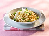 Macaroni with butter and cheese