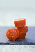 Tomato ice cubes