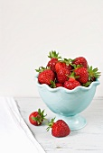Maine Grown Strawberries in a Bowl