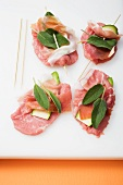 Saltimbocca (ready for frying)