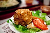 Crab Cake From Faidleys Market in Baltimore