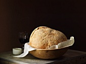 Artisan Pugliese Bread in a Bowl