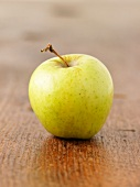 A Golden Delicious apple