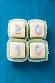 Petit fours for New Year's Eve