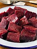 Rehfleisch, gewürfelt