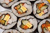 Kimbap; The Korean form of Maki Roll