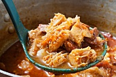 Menudo Colorado or Red Menudo; A Classic Mexican Tripe Stew