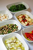 Turkish appetisers (marinated vegetables)