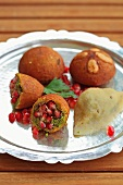 Icli Kofte (Turkish stuffed bulgur dumplings)