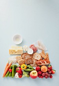 Various food groups