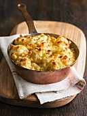 Cauliflower gratin with cheese