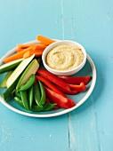 Crudite with Hummus